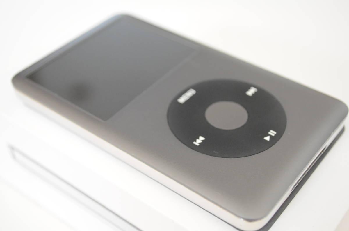 ※訳有り Apple iPod classic 160GB Black MC297J/A A1238 中古 ブラック アップル _画像8