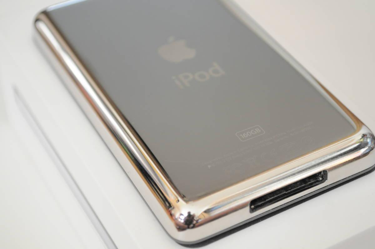 ※訳有り Apple iPod classic 160GB Black MC297J/A A1238 中古 ブラック アップル _画像9