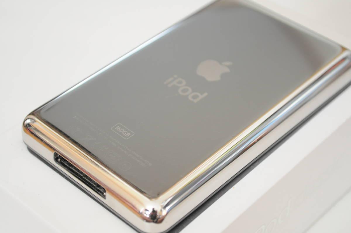 ※訳有り Apple iPod classic 160GB Black MC297J/A A1238 中古 ブラック アップル _画像10