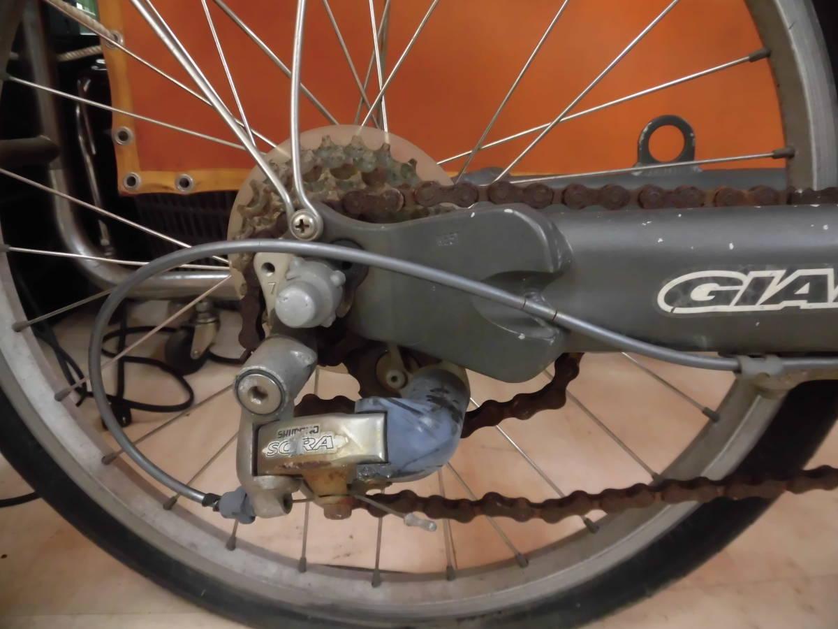 21 J GIANT revive 20インチ 特殊自転車 アルミフレーム 直接お引き取り限定! 岐阜_画像4
