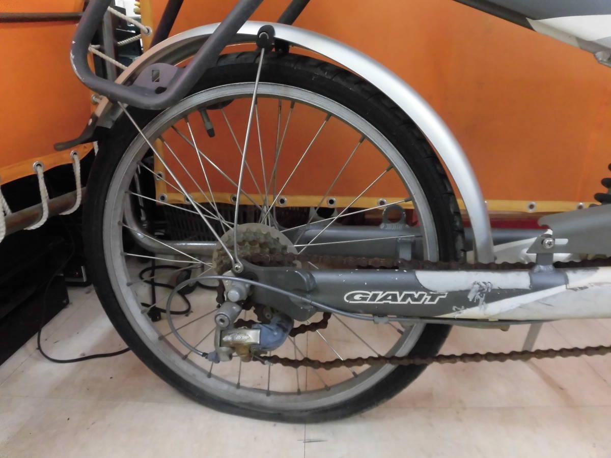 21 J GIANT revive 20インチ 特殊自転車 アルミフレーム 直接お引き取り限定! 岐阜_画像5