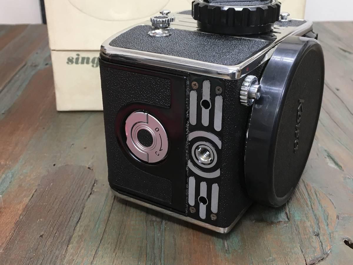 KOWA SIX コーワ シックス カメラ ボディ 本体 ストラップ 取扱説明書 箱 レンズなし_画像9