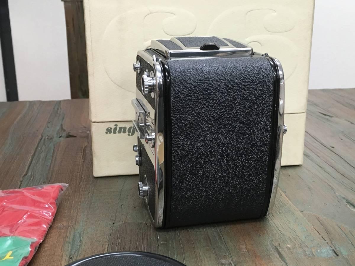 KOWA SIX コーワ シックス カメラ ボディ 本体 ストラップ 取扱説明書 箱 レンズなし_画像4