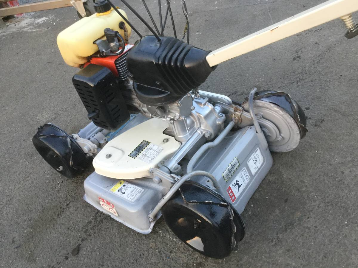 KIORITZ 草刈機 芝刈機 AZ 850 4WD_画像5
