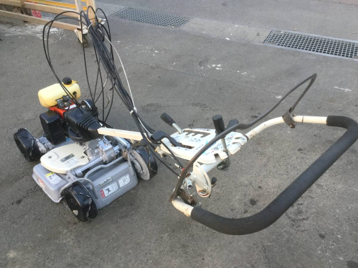 KIORITZ 草刈機 芝刈機 AZ 850 4WD_画像6