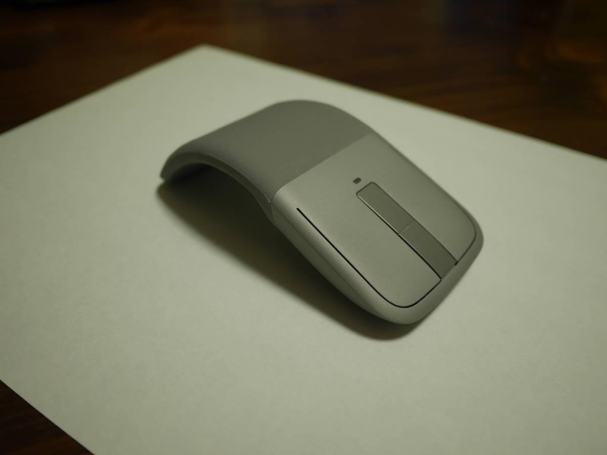 ☆中古美麗☆彡マイクロソフト マウス Bluetooth対応/ワイヤレス/薄型/小型 Arc Touch Bluetooth Mouse 7MP-00018