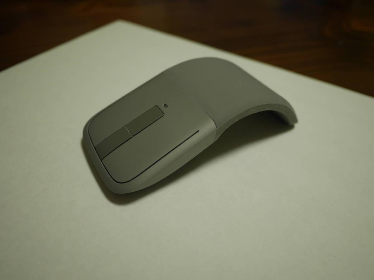 ☆中古美麗☆彡マイクロソフト マウス Bluetooth対応/ワイヤレス/薄型/小型 Arc Touch Bluetooth Mouse 7MP-00018_画像2