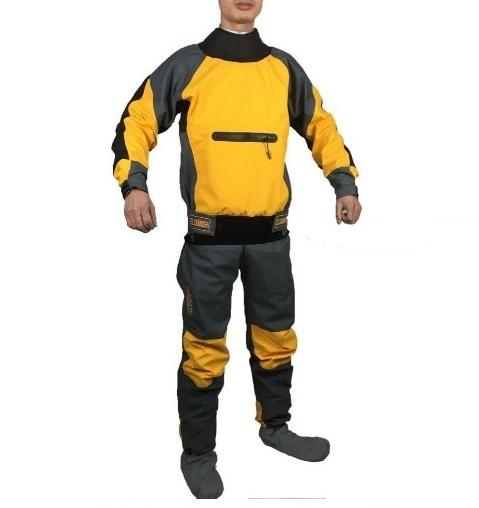 防水 ドライスーツ カヤック フィッシング セーリング ヨットウェア カヌー ボート マリンスポーツ 釣り 足漕ぎ パドル 1_画像3