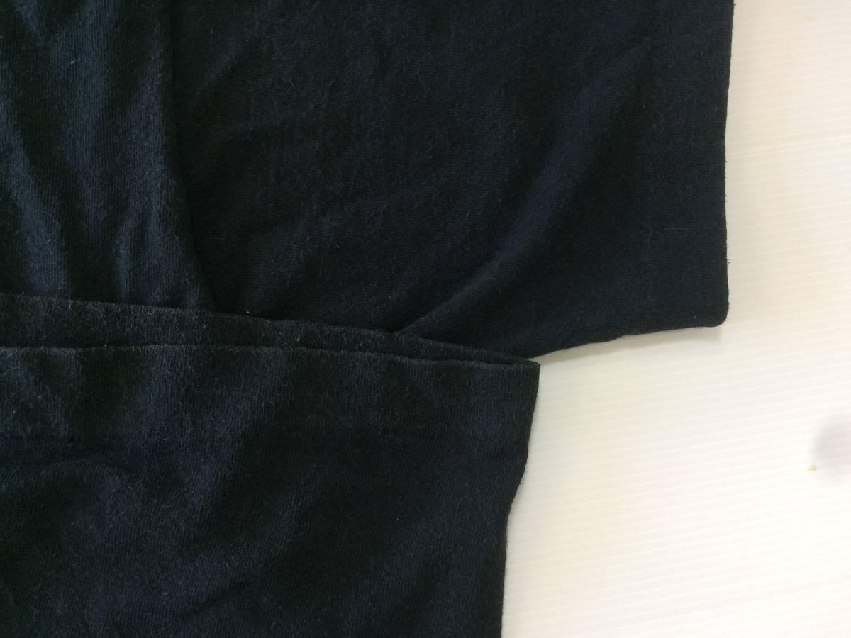 80~90s USA製 ビンテージ VISION Tシャツ 黒 M AIR TIME スケート_画像4