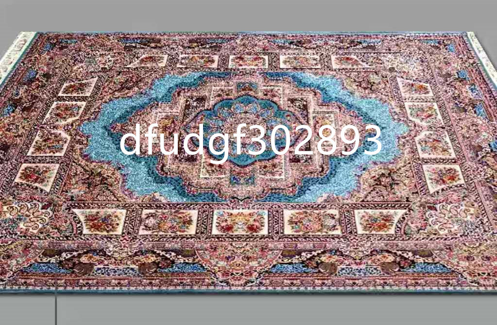 ■Persia/ペルシャ絨毯■最高級■美しいパネル模様の芸術的逸品 トルコ直輸入 高級ペルシャ絨毯 家具 カーペット 200cm*290cm【人気推薦】_画像4