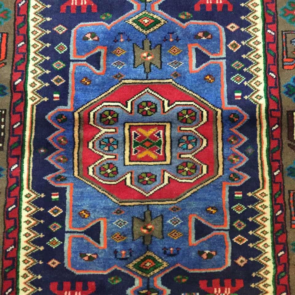 ◆新入荷◆最高級手織りペルシャ絨毯 家具 カーペット 高密度 高級感満載 イラン産 シルク/ウール 1.45m*1m_画像4