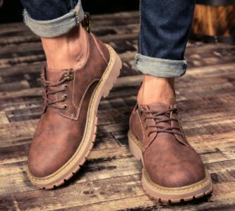No02087品質保証100% 男性用靴 マーティンブーツ ハイカット イングランド風 サイズ(選択可)_画像3