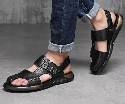 No01085 本革ブーツ 品質保証100% 男性用靴 ブラック/黒 サイズ(選択可)_画像4