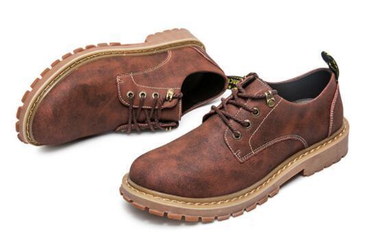 No02087品質保証100% 男性用靴 マーティンブーツ ハイカット イングランド風 サイズ(選択可)_画像5