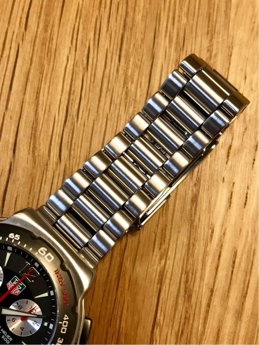 TAGHEUER タグホイヤー インディ500 クロノグラフ メンズ 腕時計 INDY500 フォーミュラ1 _画像6