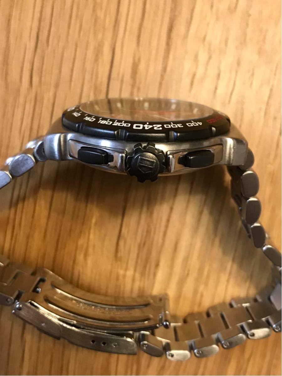 TAGHEUER タグホイヤー インディ500 クロノグラフ メンズ 腕時計 INDY500 フォーミュラ1 _画像4