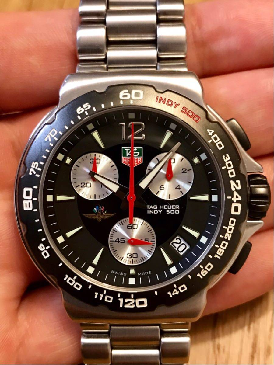 TAGHEUER タグホイヤー インディ500 クロノグラフ メンズ 腕時計 INDY500 フォーミュラ1