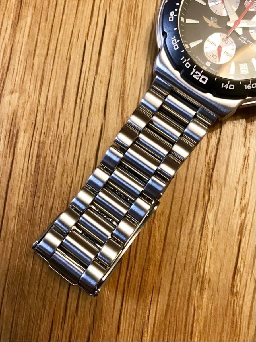 TAGHEUER タグホイヤー インディ500 クロノグラフ メンズ 腕時計 INDY500 フォーミュラ1 _画像7