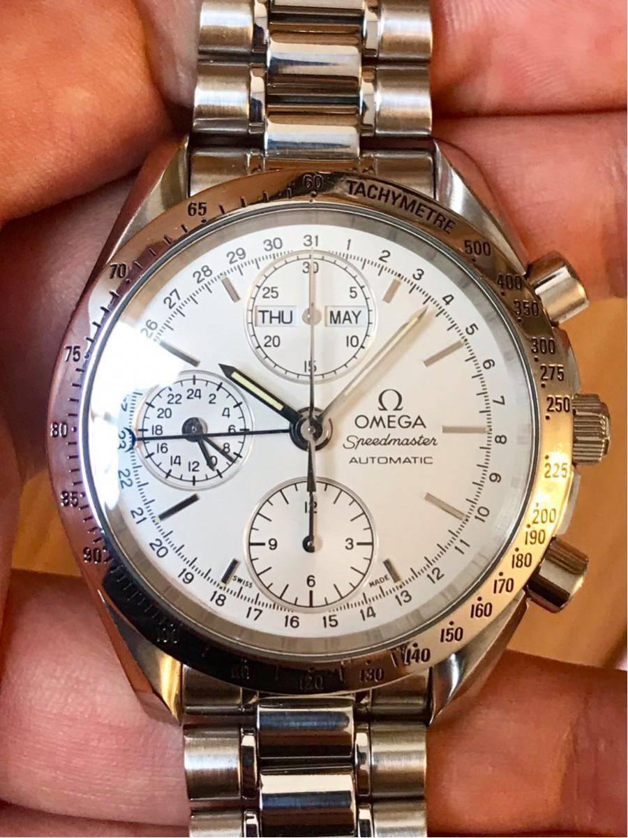 OMEGA オメガ スピードマスター トリプルカレンダー メンズ 腕時計
