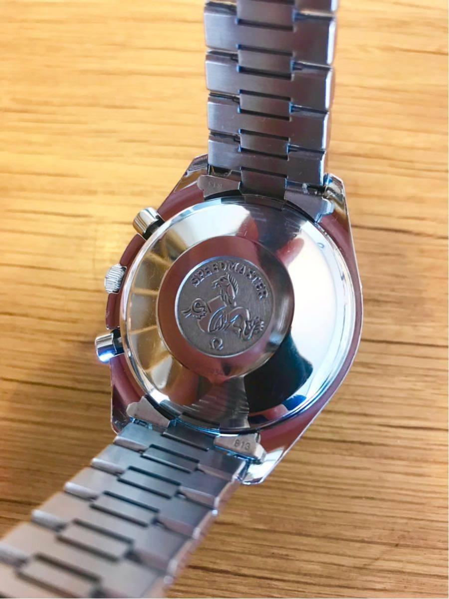 OMEGA オメガ スピードマスター トリプルカレンダー メンズ 腕時計_画像4