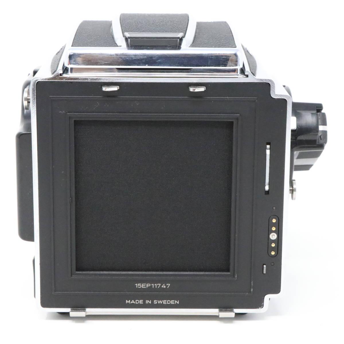 【中古良品完動品】 HASSELBLAD ハッセルブラッド 中判一眼レフカメラ ☆205TCC CarlZeiss Planar F 80mm F2.8 T* マガジン12TCC +16TCC付_画像4