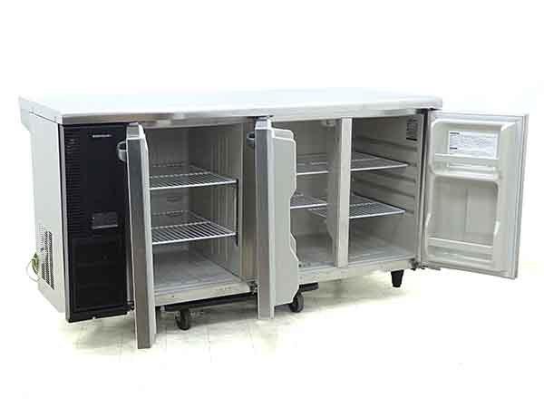 D3679【税込】2014年製 ホシザキ コールドテーブル冷凍冷蔵庫 RFT-150PNE1(冷蔵198L/冷凍102L)/87万【営業所止め】_画像2