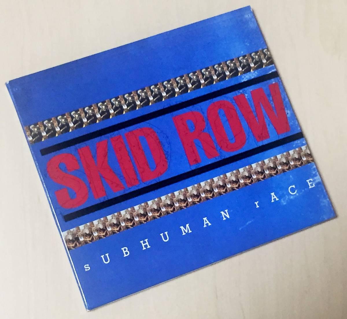 スキッド・ロウの1995年発売のインポートCD 「サブヒューマン・レース」 13曲入りのデジパック仕様 西ドイツ盤です。_画像2