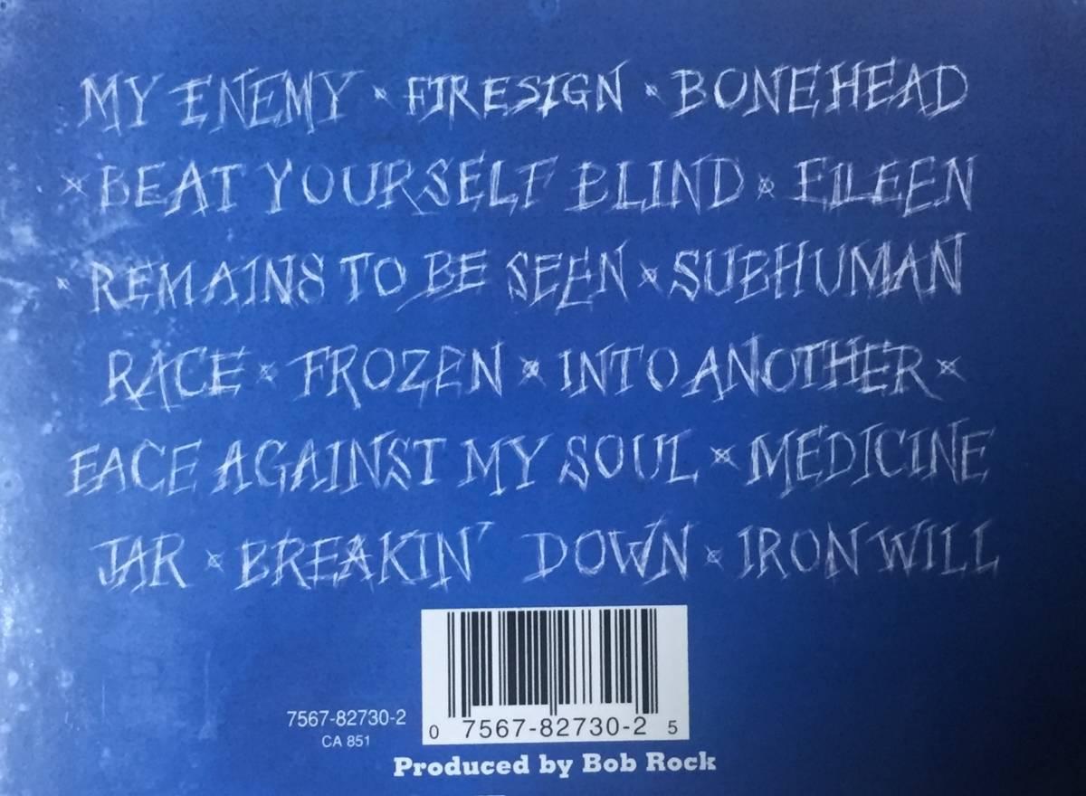 スキッド・ロウの1995年発売のインポートCD 「サブヒューマン・レース」 13曲入りのデジパック仕様 西ドイツ盤です。_画像6