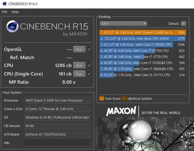AMD CPU Ryzen 5 2600 (6コア,12スレッド 3.4GHz-3.9GHz) / CPUクーラー、元箱なしで発送は185円_画像3