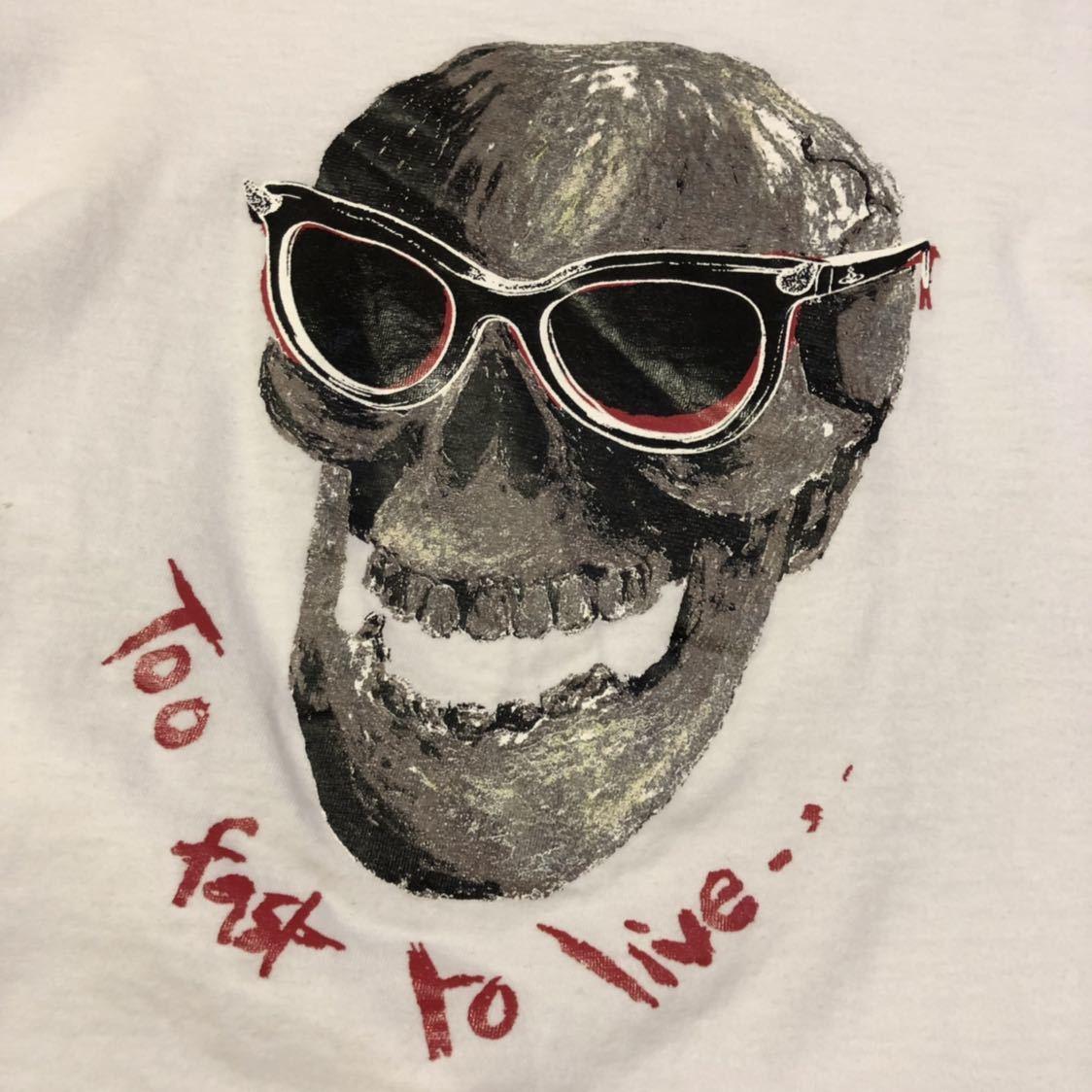 送料無料!46サイズ!日本製ヴィヴィアンウエストウッドマン 古着半袖Tシャツ_画像5