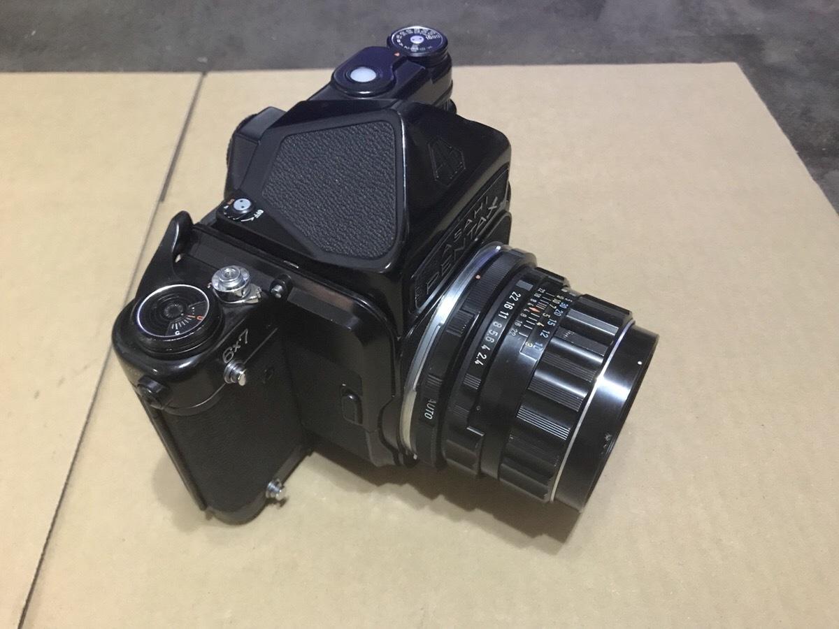 PENTAX 6×7 TTL ミラーアップ 105mm 1:2.4  ペンタックス 67_画像2