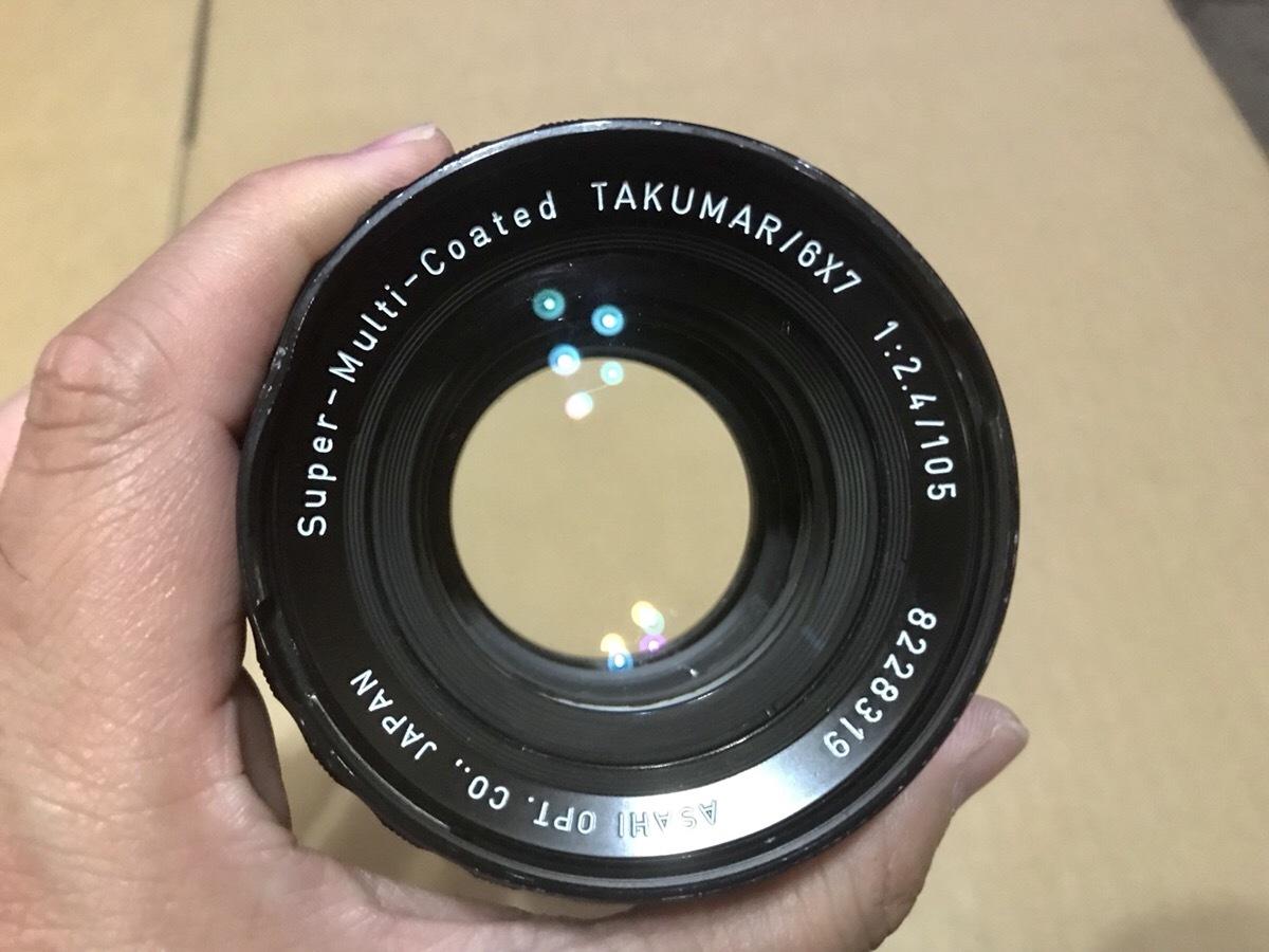 PENTAX 6×7 TTL ミラーアップ 105mm 1:2.4  ペンタックス 67_画像7