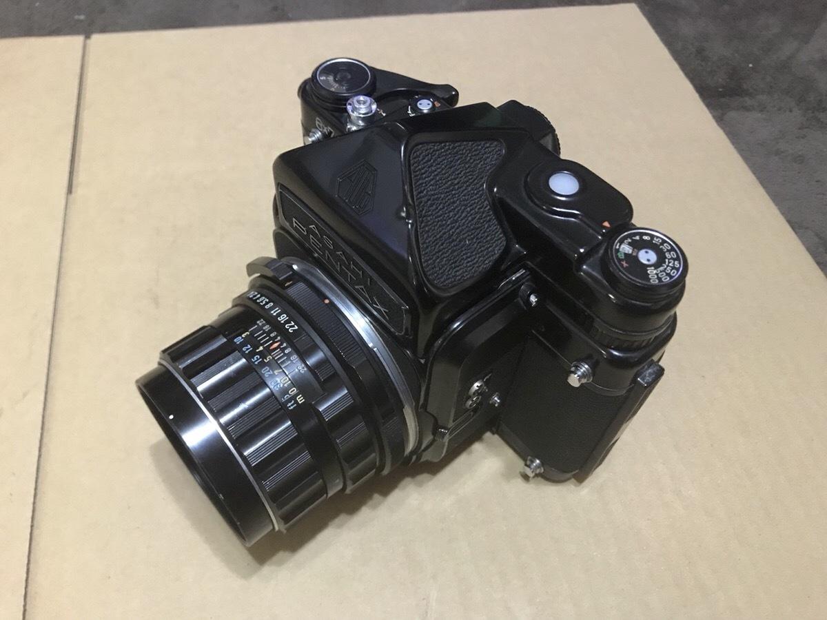 PENTAX 6×7 TTL ミラーアップ 105mm 1:2.4  ペンタックス 67