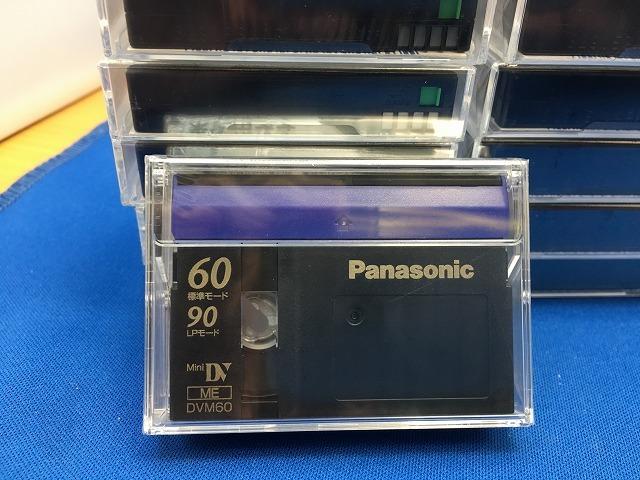 未開封品 Panasonic ミニDVカセット 13本 標準60分 パナソニック MiniDV_画像5