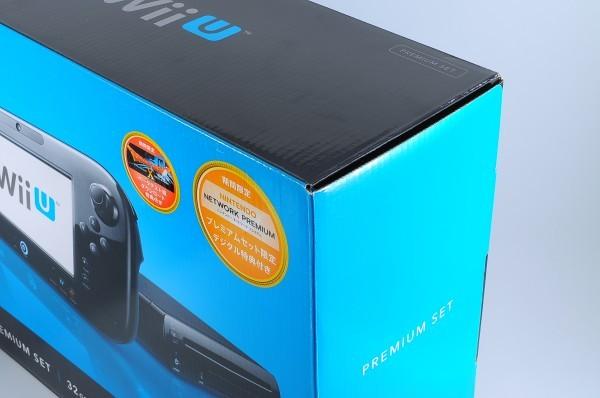 【本体 新品同様】 Wii U 本体 プレミアム セット クロ WiiU 32GB_画像2