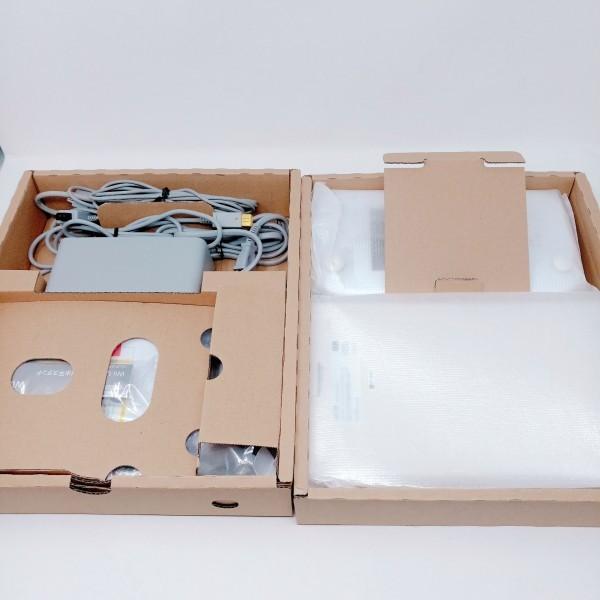 【店頭展示品 未使用】 Wii U 本体 すぐに遊べる ファミリープレミアム セット シロ WiiU 32GB_画像4