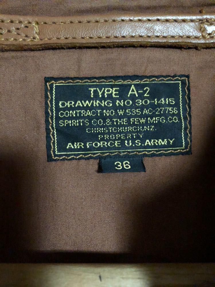 THE FEW a-2ジャケット_画像3