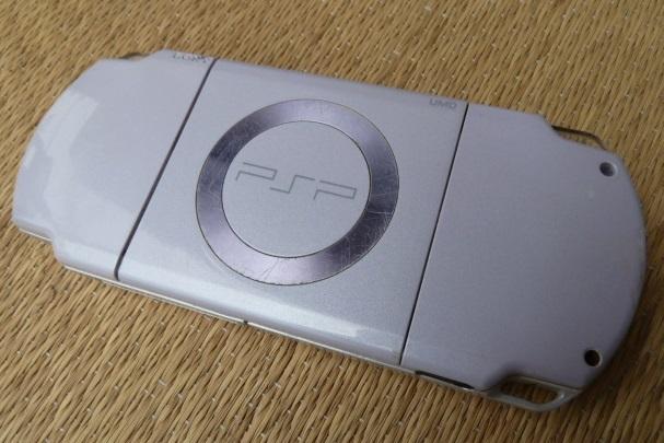 ソニー SONY PSP プレイステーション・ポータブル 本体 ブラック PSP-1000/ホワイト PSP-2000 2台セット_画像4