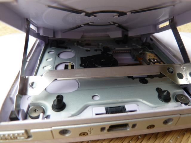 ソニー SONY PSP プレイステーション・ポータブル 本体 ブラック PSP-1000/ホワイト PSP-2000 2台セット_画像5