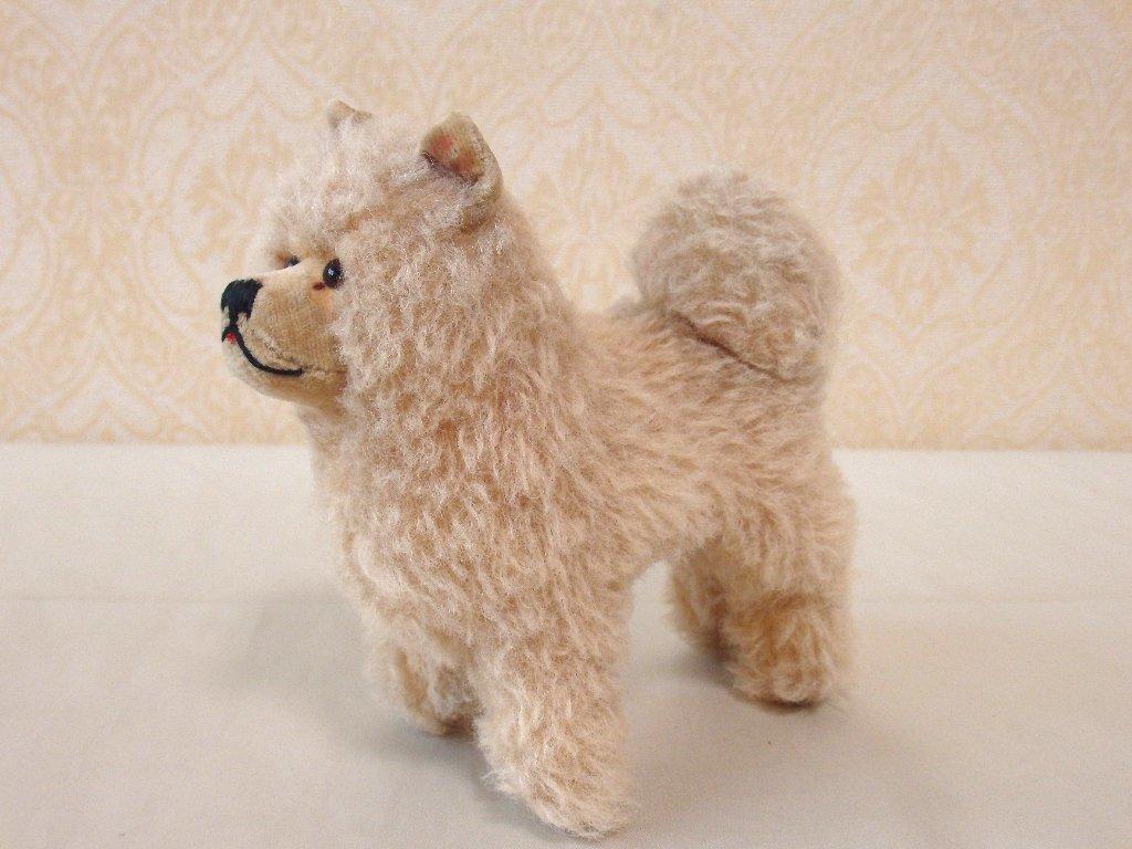steiffシュタイフ/ ビンテージ・チャウチャウ犬 / 12cm