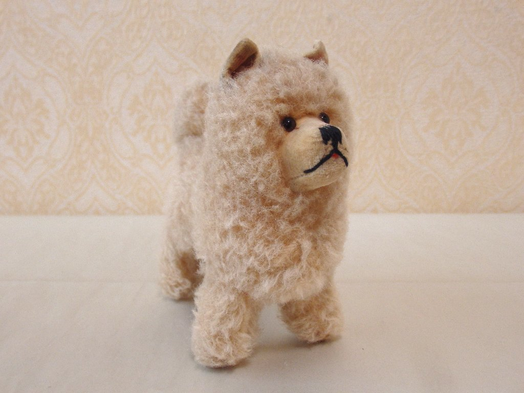 steiffシュタイフ/ ビンテージ・チャウチャウ犬 / 12cm_画像5