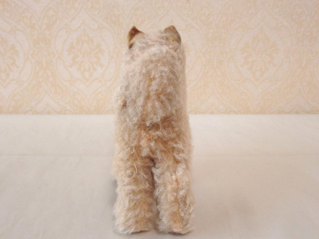 steiffシュタイフ/ ビンテージ・チャウチャウ犬 / 12cm_画像8