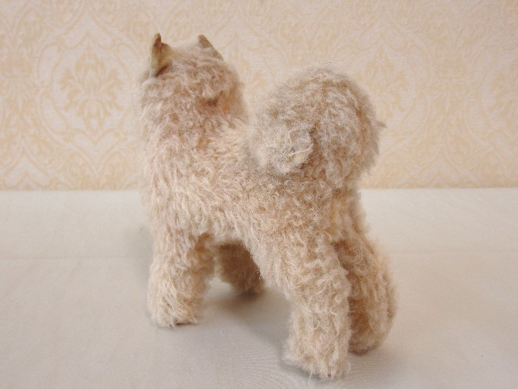 steiffシュタイフ/ ビンテージ・チャウチャウ犬 / 12cm_画像9