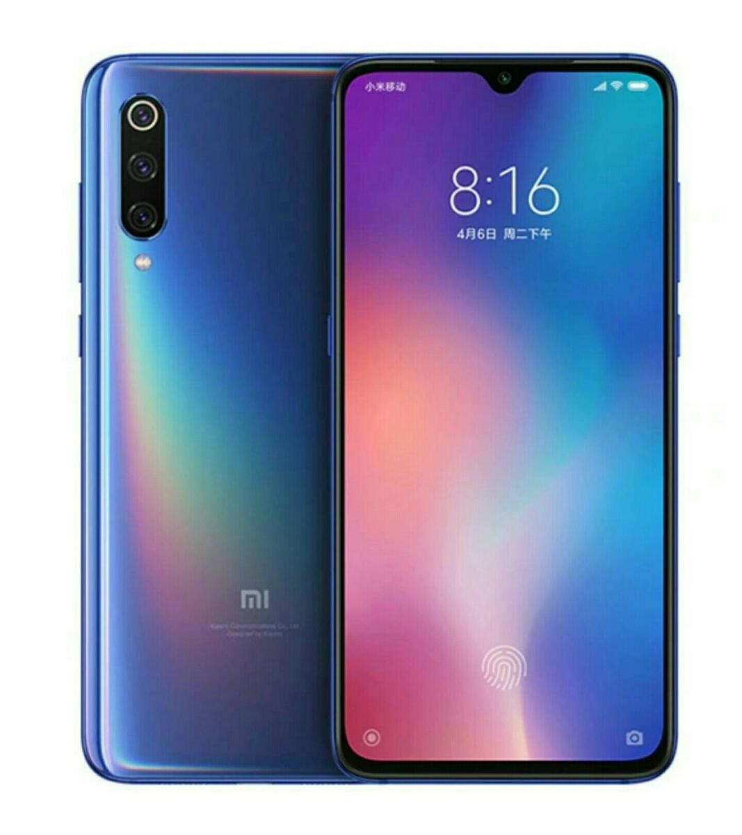 【新品未使用未開封品】Xiaomi Mi9 Ocean Blue 6GB RAM 128GB ROM Global Ver. シャオミ グローバルバージョン