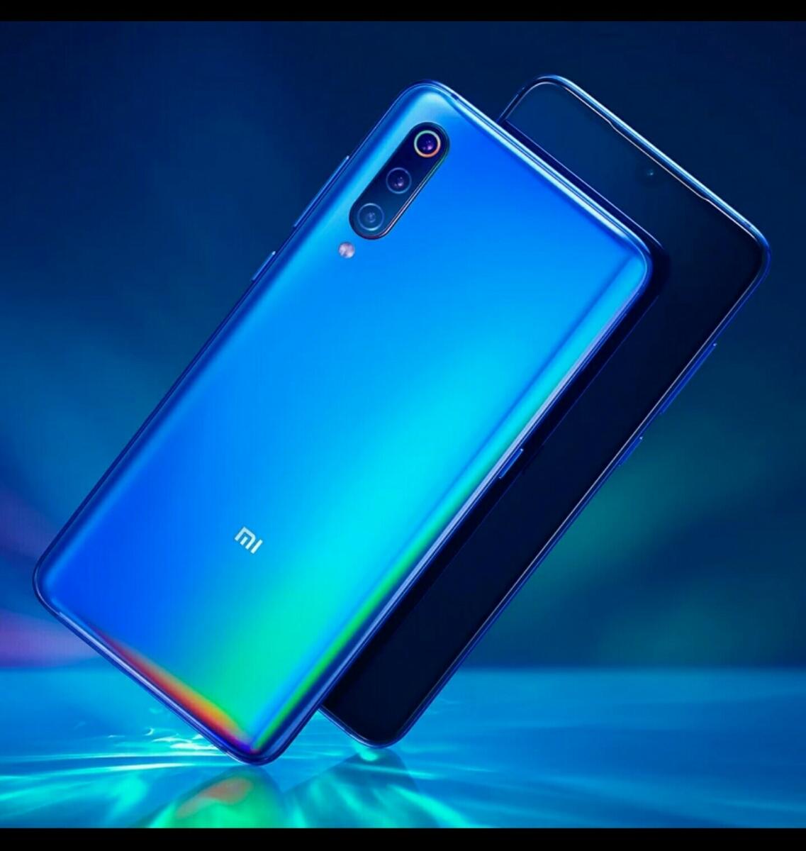【新品未使用未開封品】Xiaomi Mi9 Ocean Blue 6GB RAM 128GB ROM Global Ver. シャオミ グローバルバージョン_画像2