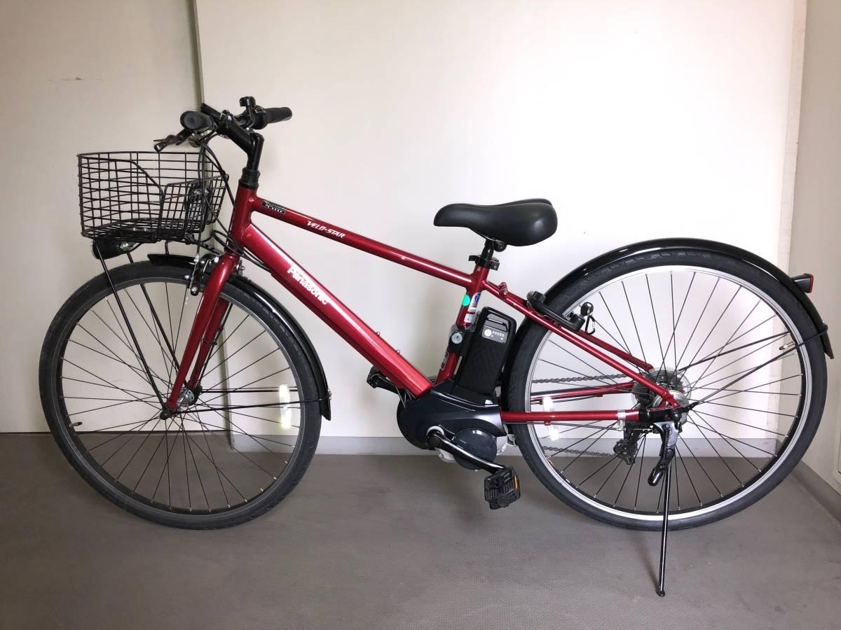 【美品・直接受渡し】電動アシスト自転車 パナソニック ベロスター BE-ELVS77