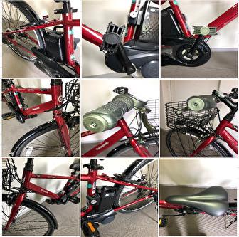 【美品・直接受渡し】電動アシスト自転車 パナソニック ベロスター BE-ELVS77_画像3