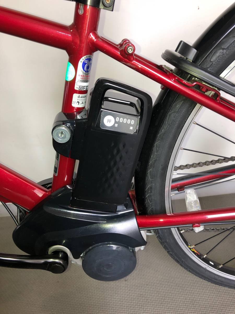 【美品・直接受渡し】電動アシスト自転車 パナソニック ベロスター BE-ELVS77_画像5