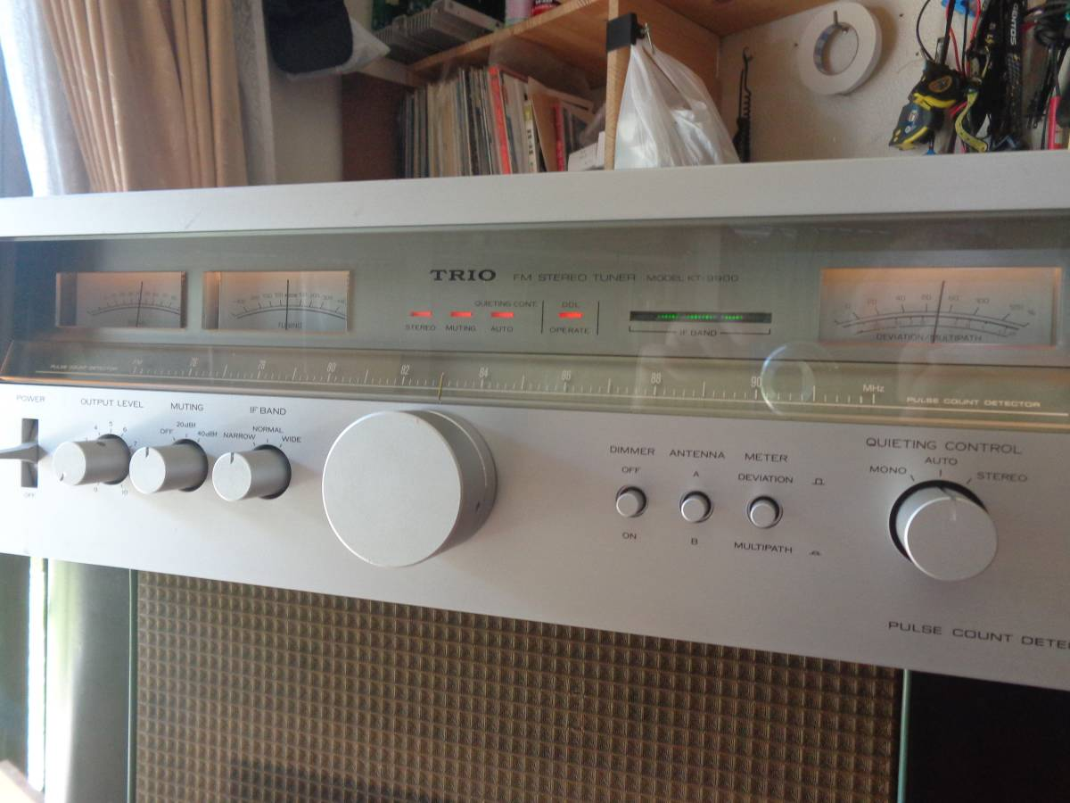 トリオ KT-9900 FM専用チューナー 動作確認品_画像8
