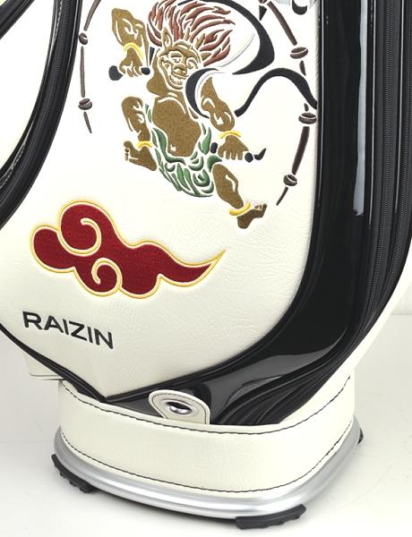 ★新品1円スタート!!◎2019年NEWモデル★ブルームーン 風神雷神 WH 9型 ゴルフ キャディバッグ(残りわずか)_画像8